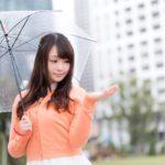 降水確率50%とは傘必須?雨降る前に晴れ間はあるの?